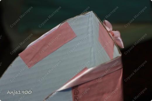 Хочу предложить вашему вниманию мини МК по декору обычных картонных папок для журналов из Икеи! фото 12