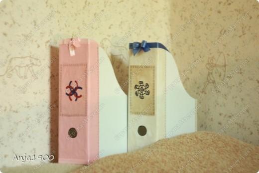 Хочу предложить вашему вниманию мини МК по декору обычных картонных папок для журналов из Икеи! фото 14