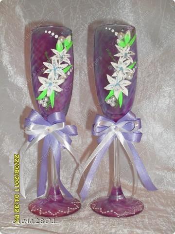 Вот такие бокалы заказала себе на день рождения одна девушка... фото 1