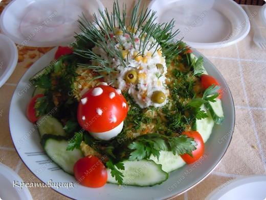 """салат """"Ёжик"""")))"""