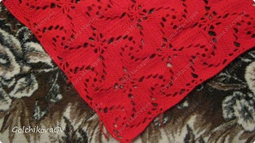 Вот и я закончила свой шарф. Мне,как всегда,  хочется чего-то своего, вот и намудрила. фото 17