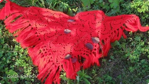 Вот и я закончила свой шарф. Мне,как всегда,  хочется чего-то своего, вот и намудрила. фото 29
