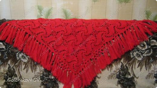 Вот и я закончила свой шарф. Мне,как всегда,  хочется чего-то своего, вот и намудрила. фото 28