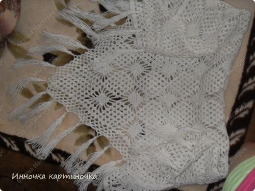 Вязала как шаль, только меньшего размера. фото 1