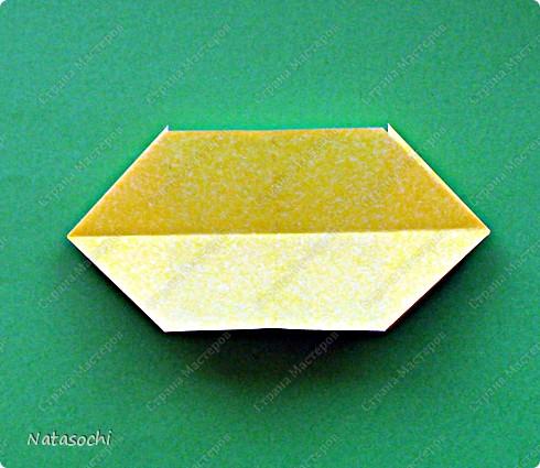 Здравствуйте! Ранее я выкладывала эту кусудаму автора Doug Jones. http://stranamasterov.ru/node/197478 В данном посте была ссылка на авторский туториал   http://www.flickr.com/photos/augustus7669/5319838749/in/photostream/ Но, оказывается, сейчас от туториала осталось несколько первых фото.   В связи с этим выкладываю МК. Надеюсь, что кому-нибудь пригодится.  Итак, по просьбе Vaquilina.   фото 6