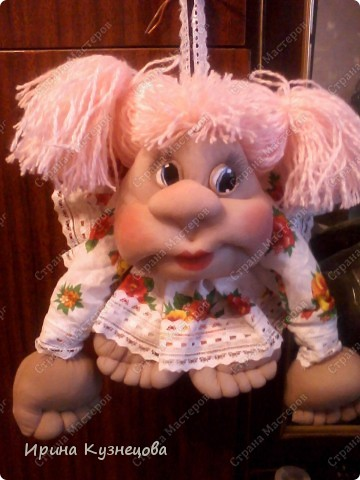 Вчера подарила маме куклёну)) фото 2