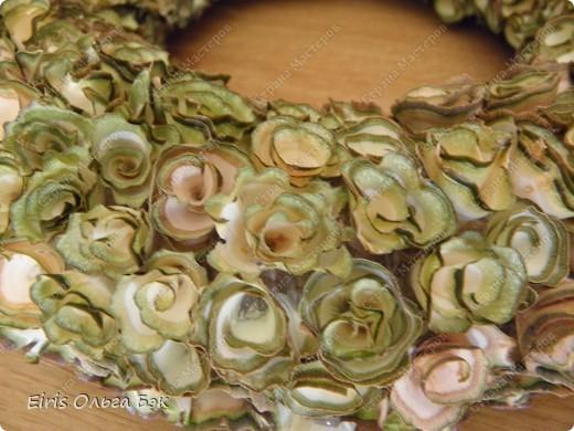 """Это крупным планом """"деревянные розочки"""". Увидела их в интернете http://marrietta.ru/post173717111/ и влюбилась с первого раза... Естественно не претендую на ПЕРВООТКРЫВАТЕЛЬСТВО, но решила выложить фото и комментарии к ним. фото 7"""