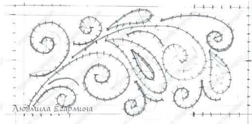 Шкатулочка+схема Картон