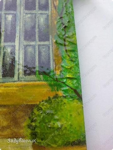 """Декупаж. Ключница номер раз)) Здесь использовала структурную пасту, добавила """"зелени"""", прорисовала некоторые детали фото 6"""