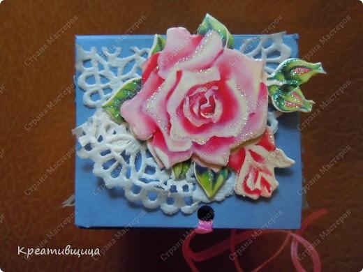 подарочная коробочка из бумаги для пастели фото 3