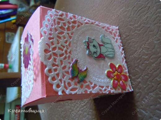 подарочная коробочка из бумаги для пастели фото 7