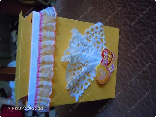 подарочная коробочка из бумаги для пастели фото 4