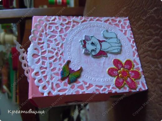 подарочная коробочка из бумаги для пастели фото 8