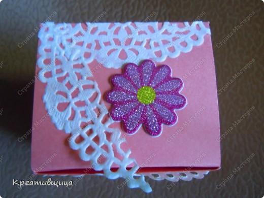 подарочная коробочка из бумаги для пастели фото 9