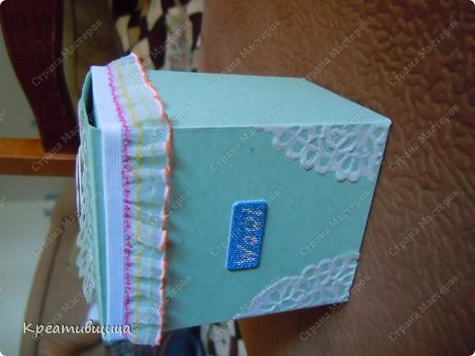 подарочная коробочка из бумаги для пастели фото 5