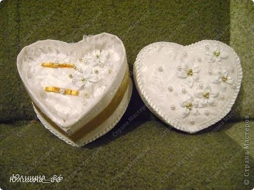 практически полный набор свадебных мелочей. решила делать все в бело-золтой гамме.каждый аксессуар является дебютом, все делала  впервые))) фото 12
