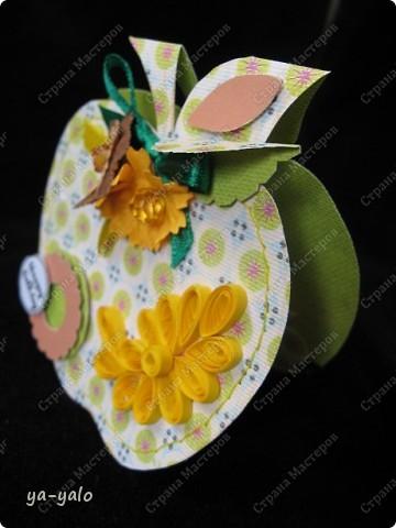 Первое яблочко в горошек.  фото 1