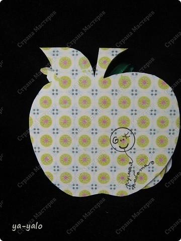 Первое яблочко в горошек.  фото 4