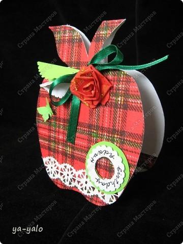 Первое яблочко в горошек.  фото 8