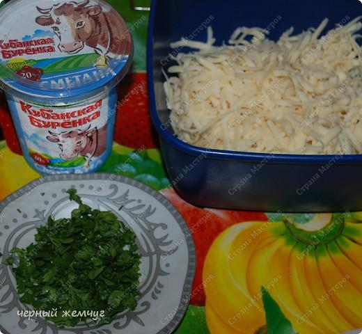 Яичный гриб в сметанном соусе фото 3