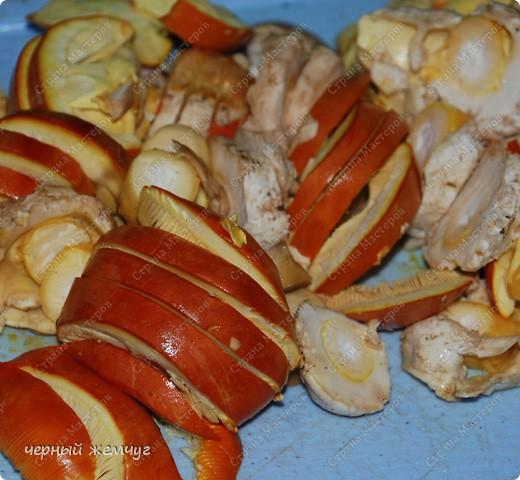 Яичный гриб в сметанном соусе фото 2