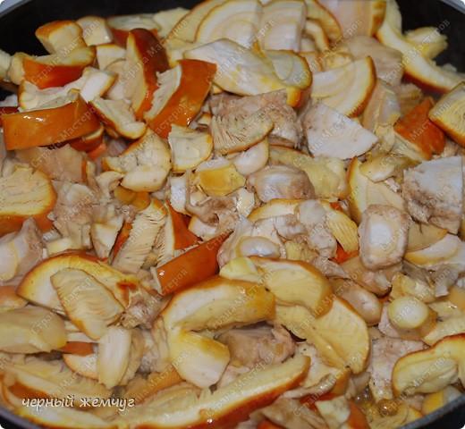 Яичный гриб в сметанном соусе фото 4