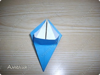 "Еще одни цветочки из книги  Livro de Origami Основа кусудама ""Электра"" автор Девид Митчел http://diagramascia.blogspot.com/search/label/Electra http://www.youtube.com/watch?v=_C0TMbyP_No http://kusuda.ru/kusudamas/kusudama-elektra/ фото 10"