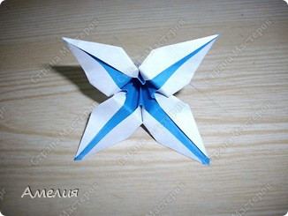 "Еще одни цветочки из книги  Livro de Origami Основа кусудама ""Электра"" автор Девид Митчел http://diagramascia.blogspot.com/search/label/Electra http://www.youtube.com/watch?v=_C0TMbyP_No http://kusuda.ru/kusudamas/kusudama-elektra/ фото 17"