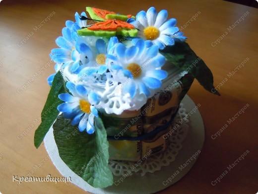 Тортик из конфет №1))) фото 1