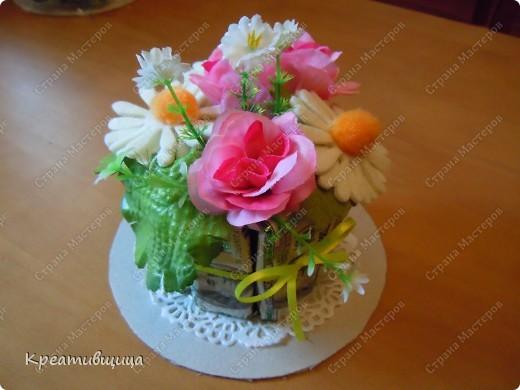 Тортик из конфет №1))) фото 3