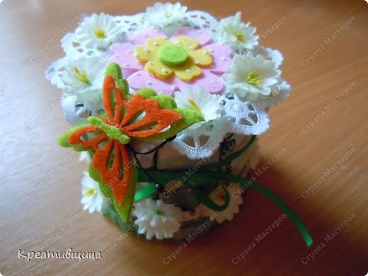 Тортик из конфет №1))) фото 5