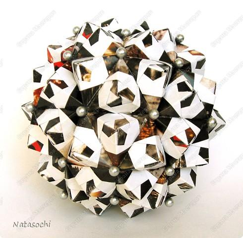 """Добрый день! Представляю на ваш суд два новых соноба. Первый из книги Kunihiko Kasahara """"Origami 2 Geometrikus"""", стр. 19 фото 2"""