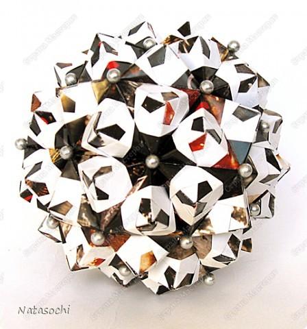 """Добрый день! Представляю на ваш суд два новых соноба. Первый из книги Kunihiko Kasahara """"Origami 2 Geometrikus"""", стр. 19 фото 1"""