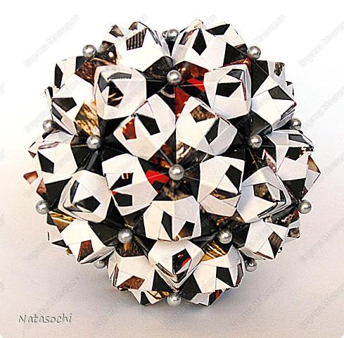 """Добрый день! Представляю на ваш суд два новых соноба. Первый из книги Kunihiko Kasahara """"Origami 2 Geometrikus"""", стр. 19 фото 3"""