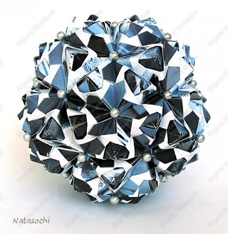 """Добрый день! Представляю на ваш суд два новых соноба. Первый из книги Kunihiko Kasahara """"Origami 2 Geometrikus"""", стр. 19 фото 4"""