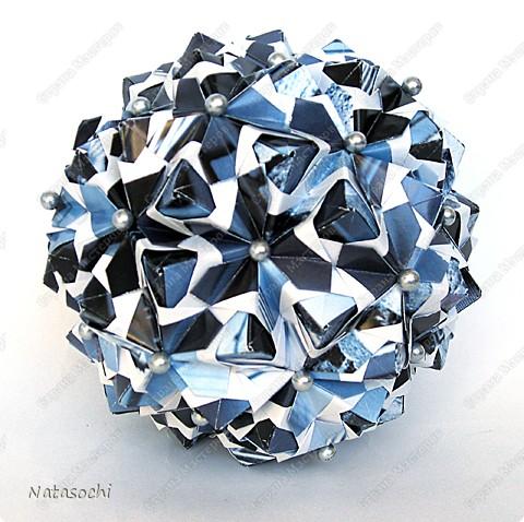 """Добрый день! Представляю на ваш суд два новых соноба. Первый из книги Kunihiko Kasahara """"Origami 2 Geometrikus"""", стр. 19 фото 5"""