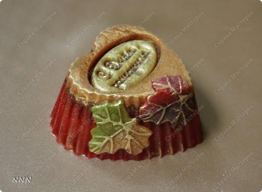 """С использованием силиконового штампика, силиконовых форм сердечка и листики, аромат """"Марракеш"""" - яркий, теплый: цитрусы, яблоко, корица и много ещё всего приятного. фото 2"""