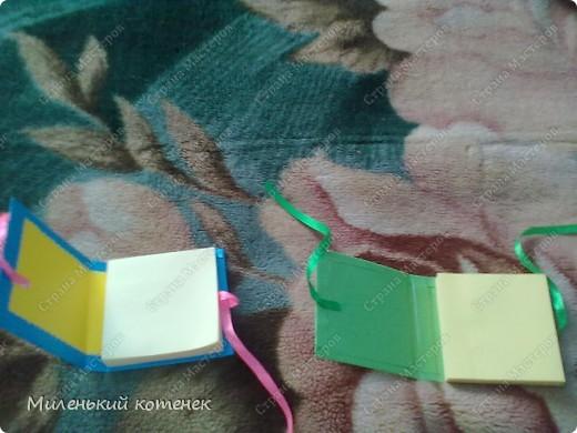 Это мои блокнотики!Сделала по мастер-классу Тинсанны! фото 4
