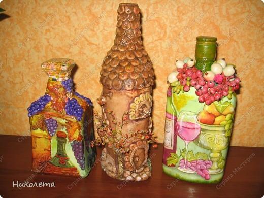 решила собрать бутылочную коллекцию фото 2