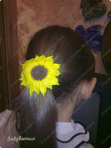 Сделала вот такие резиночки-заколочки для дочи)) фото 4