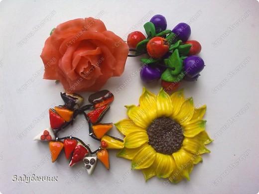Сделала вот такие резиночки-заколочки для дочи)) фото 11