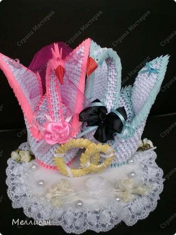 Моя гордость - свадебные лебеди