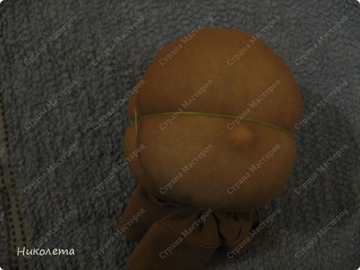 """Дорогие мастерицы, увидела на """"Ярмарке Мастеров"""" вот такую куколку и не смогла пройти мимо. Куклами никогда не увлекалась, но простота ее исполнения меня подкупила. Сшила ее за один вечер. МК по ее изготовлению  ⪡ Ссылка удалена п. 2.4 http://stranamasterov.ru/print/regulations ⪢ Может кому-то будет интересно. фото 7"""