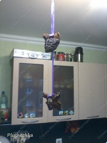 """Вот решилась """"поджарить подушечку в духовке"""":) получилось такое вот чудо. Заюц Двуликий и подушка-сердечко. фото 4"""