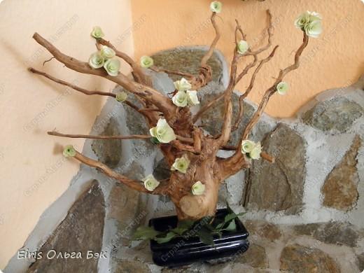Так как  в посте основное показать и рассазать о цветочках, которые получаются   из веток  разных деревьев при помощи точилки,дрели или шуруповерта, то фото-это просто как наглядное пособие... Или просто идеи использования... фото 1