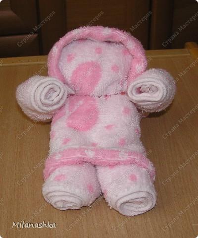 Лялька из полотенца фото 1