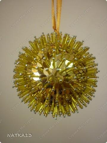 вот и я сделала шары на новый год  фото 3
