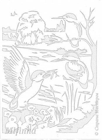 Картинка взята из набора для раскрашивания акварелью. фото 2