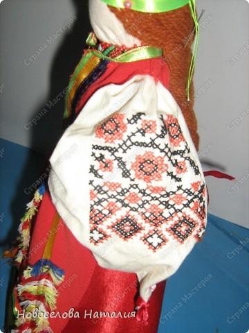 Этих кукол я выполняла вместе дочерью Анастасией. Мы попытались в этой работе воплотить народный костюм новооскольского района. фото 3