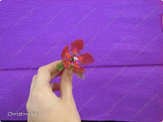 Мои поделки из бисера: цветы+змея Бисероплетение.